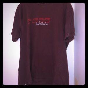 Men's Quicksilver Brown logo Tee shirt